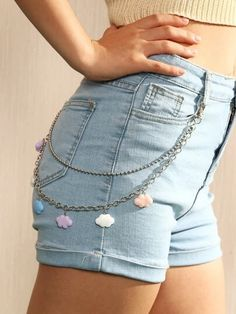 Women's Belts & Accessories | Belts For Women | SHEIN USA Indie Fashion, Fashion Outfits, Armband Diy, Accesorios Casual, Cute Comfy Outfits, Hair Accessories For Women, Women's Accessories, Hooded Sweatshirts, Ideias Fashion