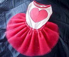 ONORTech Lovely Cute Heart Design Doggy Apparel Clothes Pet Puppy Dog Cat Bow Tutu Princess Dress Wedding Party Dress S -- Find out more about the great product at the image link.