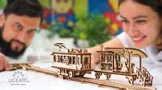 Father's Day is coming! Enjoy it with UGEARS mechanical models.