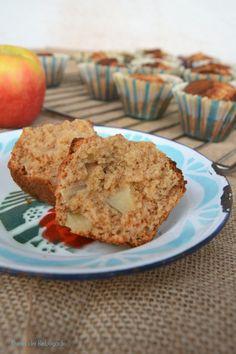 Queques de maçã e canela