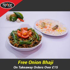 Spice Lounge offers delicious Indian Food in Morley, Leeds Browse takeaway menu and place your order with ChefOnline. You can pay via cash. Spice Lounge, Onion Bhaji, Indian Food Recipes, Ethnic Recipes, Food Items, Leeds, A Table, Opportunity