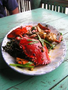 Khmer (Cambodian) cuisine places an emphasis on simplicity, freshness, and seasonality! The crab looks delicious! #AdventureWishList