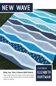New Wave Quilt Pattern