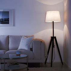 Tripod floor lamps are inherently modern.