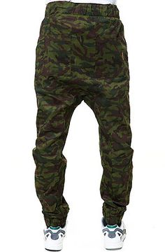 The Jungle Hammer Pants in Green Camo by Unyforme