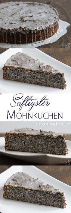 Mohnkuchen – so saftig wie noch nie Juiciest poppy seed cake ever Related Post Warning: This dessert has addictive potential! Food Cakes, Desserts Végétaliens, Sweet Recipes, Cake Recipes, Avocado Dessert, Poppy Seed Cake, Pumpkin Spice Cupcakes, Food Blogs, Cakes And More