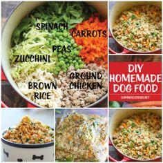 Dog food recipes dog food homemade homemade dog food dog food make homemade natural dog food recipe forumfinder Images