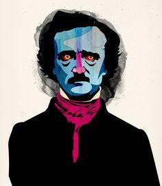 Desde Chile el artista Álvaro Tapia rinde tributo a Poe con su obra.–15 Ilustraciones tributo al romántico más oscuro: Edgar Allan Poe