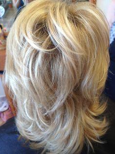 Cute short cut with subtle highlights @ Versailles Salon Modesto, Ca
