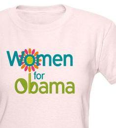 Women for Obama design by Democrat Brand.