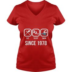 Eat Sleep Swim Since 1978 T-Shirt 39th Birthday Gift Shirt #gift #ideas #Popular #Everything #Videos #Shop #Animals #pets #Architecture #Art #Cars #motorcycles #Celebrities #DIY #crafts #Design #Education #Entertainment #Food #drink #Gardening #Geek #Hair #beauty #Health #fitness #History #Holidays #events #Home decor #Humor #Illustrations #posters #Kids #parenting #Men #Outdoors #Photography #Products #Quotes #Science #nature #Sports #Tattoos #Technology #Travel #Weddings #Women