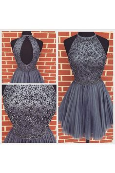 Sparkly Prom Dress, sexy homecoming dresses backless homecoming dresses junior homecoming dresses short prom dress , These 2020 prom dresses include everything from sophisticated long prom gowns to short party dresses for prom. Backless Homecoming Dresses, Grey Prom Dress, Open Back Prom Dresses, Prom Dresses For Teens, Best Prom Dresses, Dresses Short, Prom Party Dresses, Cheap Dresses, Evening Dresses