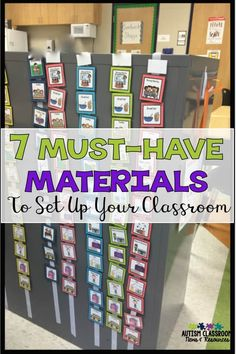 Let's face it. We can always use MORE things in our classroom, but there just isn't time enough in the day. Here are the 7 sets of must-have materials to get your special education classroom up and running quickly. via @drchrisreeve