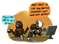 Someone calm Shaxx by Dulcamarra.deviantart.com on @DeviantArt