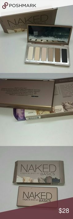 Naked Basics palette by Urban Decay Urban decay Naked basics eye shadow palette.features 6 warm hued matte shadows. 1000% Authentic direct from Urban decay cosmetics. Brand new never used. No trades price is firm. Thank you Urban Decay Makeup Eyeshadow