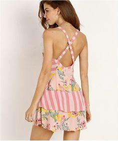 dca23f6b1283 For Love and Lemons Anitgua Mini Dress For Love And Lemons, Resort Style