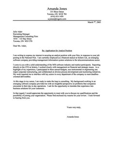 cover letter cover letter and some basic considerations - Simple Resume Cover Letters