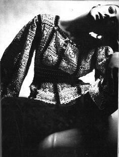 "Vogue Paris 1969 ""Paco Rabanne"" Model: Marisa Berenson Photographer: Guy Bourdin"