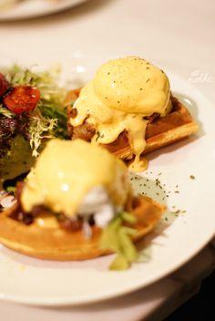 The Pudding Nouveau Duck Confit Edd Benedict, Food review & photos by mohkc