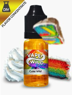 Products for your very own D.I.Y mixes! Try your hand at making your very own VapeWild creations!