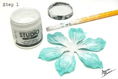 Ingvild Bolme altered clock flower tutorial