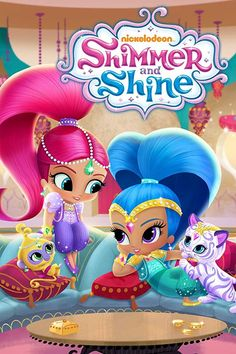 SINGAPORE, 12 NOVEMBER 2015 - Pre-schoolers will enter a whimsical genie world full of magic, music and misadventures in Nickelodeon's brand-new an. Happy 6th Birthday, 6th Birthday Parties, Girl Birthday, Birthday Cards, Shimmer And Shine Decorations, Eva Bella, Shimmer And Shine Characters, Dee Bradley Baker, Shimmer Y Shine