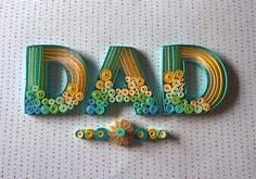 Dad - Paper Quilling on Behance