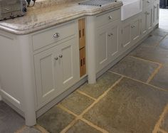 The kitchen is the heart of your home, and as the most important room in the house, its floors are sure to get some serious traffic. So your thoughtfully plan Kitchen Flooring, Kitchen Cabinets, The White Company, Beautiful Kitchens, Floors, How To Plan, Heart, Room, House