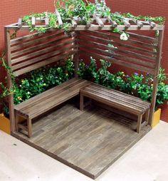 Outdoor Garden Furniture Beste Ideen Patio Bois Decks Yards Kill 'em or Cure 'em: Moving Housepl Front Yard Landscaping, Backyard Patio, Backyard Ideas, Courtyard Landscaping, Backyard Seating, Patio Ideas, Garden Crafts, Garden Projects, Garden Furniture Design