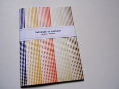 Caderno / Notebook A5 Handmade by Cadernos de atelier