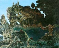 Max Ernst - Swampangel. 1940