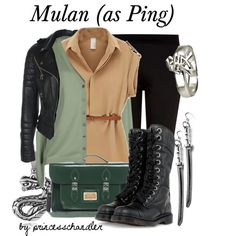 """Mulan (as Ping)"" by princesschandler on Polyvore"