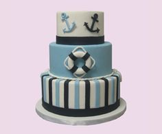 Nautical Theme - Cake