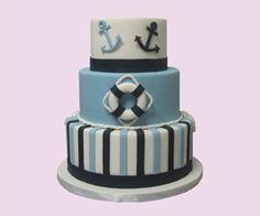Nautical Theme - Cake