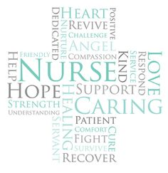 Nursing Words  Women's High Definition digital by DappleInkLLC, $12.95