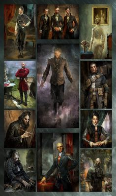 Dishonored: All Sokolov's Painting's