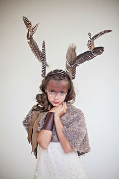 Girl meets deer