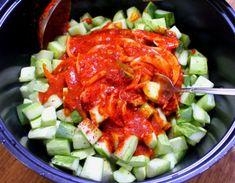 K Food, Korean Dishes, Cobb Salad, Bread, Cooking, Kitchen, Brot, Baking, Breads