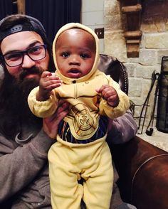 Jep and baby Jules Agustus Robertson Robertson Family, Phil Robertson, Jep And Jessica, Duck Dynasty Family, 4 Kids, Children, Child Protective Services, Duck Commander, Quack Quack