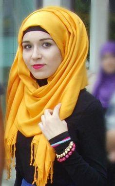 Hijab #yellow