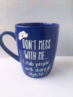 Nurse Mug RN Mug Nurse Personalized Mug Nurse Cup Nurse Appreciation Gift Nurse Gift Registered Nurse Gift RN Gift Nurse Graduation Gift Nurse Mugs, Rn Nurse, Nurse Life, Nurse Humor, Student Nurse, Nurse Stuff, Lab Tech, Nursing Graduation, Graduation Gifts