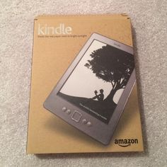 Kindle first edition Never been used, not even opened. Accessories