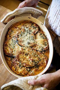 {Eggplant casserole.}