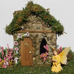 Morning Glory Fairy House