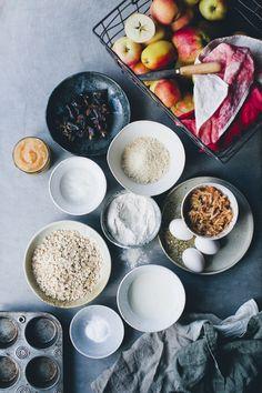 Apple Muffins / Green Kitchen Stories