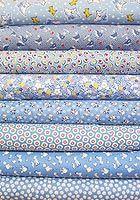 1930's Reproduction Fabric Bundle - Blue