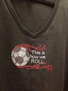 My new Soccer Mom shirt!!