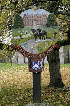 Norfolk Village of west raynham in rural norfolk, beautiful place to visit