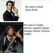 Robert Trujillo, Black Metal, Heavy Metal, Music Jokes, Music Humor, Band Memes, Metallica Meme, Rock Meme, Metal Meme