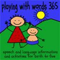 A blog from a Speech-Language Pathologist that's passionate about children's literature and educating others about development and intervention.  Working as a SLP for 6 years, she specializes in preschool age and she started this blog as a place to send others to explain speech and language development, as well as ideas and activities to expand a child's development.